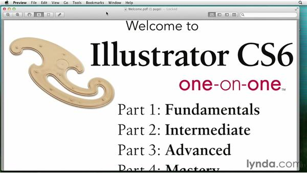 Opening from the Macintosh Finder: Illustrator CS6 One-on-One: Fundamentals