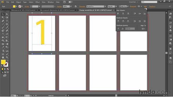 Modifying your document: Illustrator CS6 One-on-One: Fundamentals