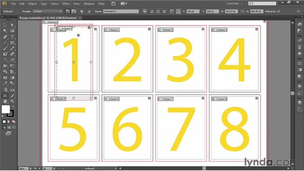 Creating and copying artboards: Illustrator CS6 One-on-One: Fundamentals