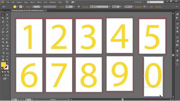Auto-arranging artboards: Illustrator CS6 One-on-One: Fundamentals