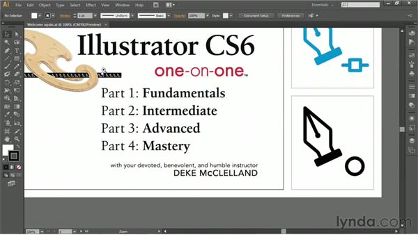 Navigating your artwork: Illustrator CS6 One-on-One: Fundamentals