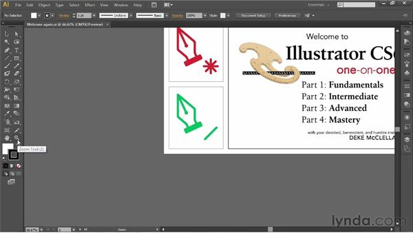 Honing in a specific detail: Illustrator CS6 One-on-One: Fundamentals