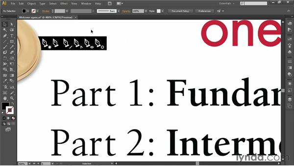 Using the Page Up and Page Down keys: Illustrator CS6 One-on-One: Fundamentals