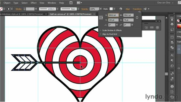 Rotating, filling, and stacking: Illustrator CS6 One-on-One: Fundamentals