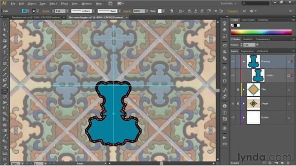 Using the Shape Builder tool: Illustrator CS6 One-on-One: Fundamentals