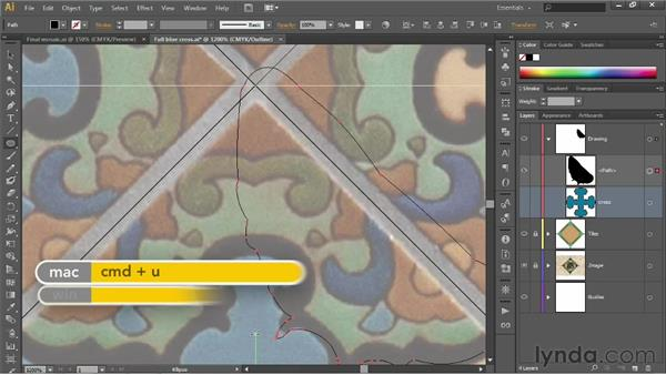 Subtracting with the Shape Builder: Illustrator CS6 One-on-One: Fundamentals