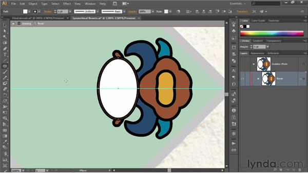 Working in the Group Isolation mode: Illustrator CS6 One-on-One: Fundamentals