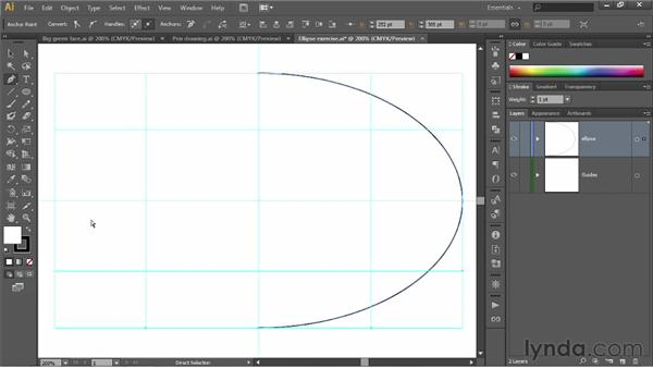 Drawing perfectly smooth outlines: Illustrator CS6 One-on-One: Fundamentals