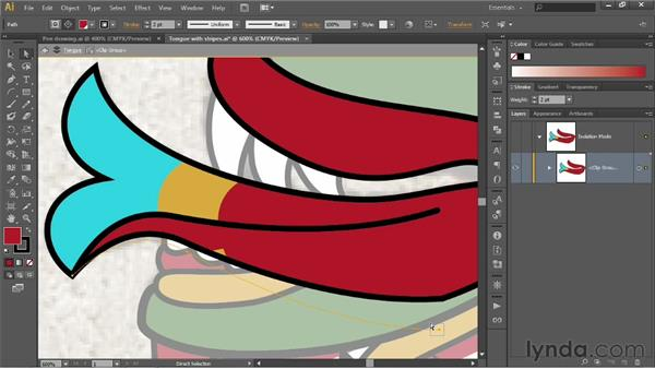Copying and repurposing segments: Illustrator CS6 One-on-One: Fundamentals