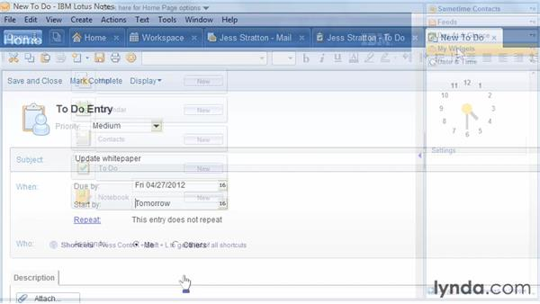 Welcome: Up and Running with Lotus Notes