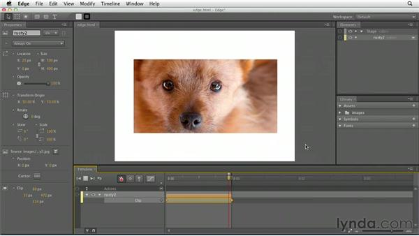 Animating using Adobe Edge: HTML5 for Flash Developers