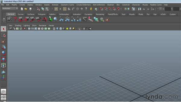Overview of the Maya interface: Maya Essentials 1: Interface and Organization