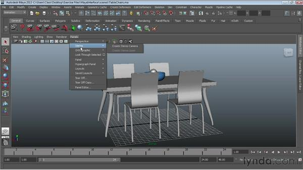 Navigating Maya viewports: Maya Essentials 1: Interface and Organization