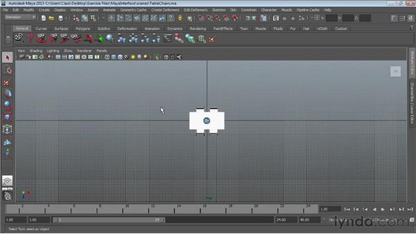 Using the Hotbox : Maya Essentials 1: Interface and Organization