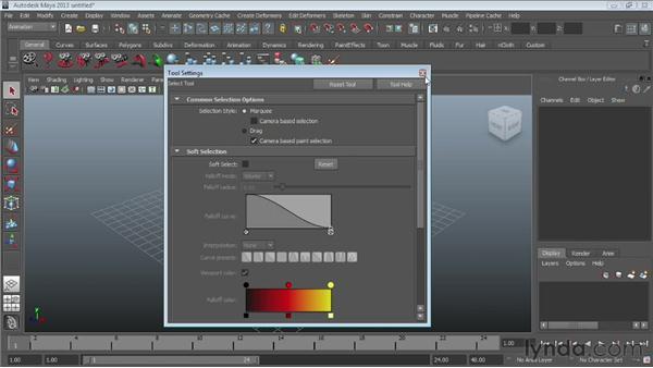 Customizing the interface: Maya Essentials 1: Interface and Organization