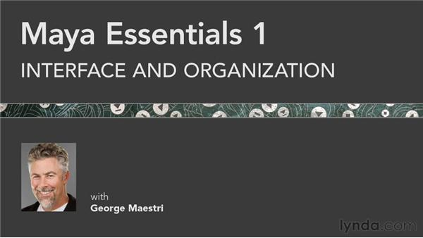Goodbye: Maya Essentials 1: Interface and Organization
