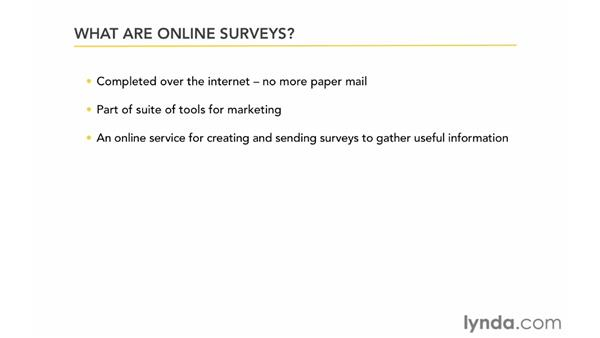 What are online surveys?: Up and Running with Online Surveys