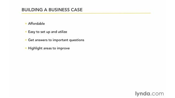 Building a business case for online surveys: Up and Running with Online Surveys