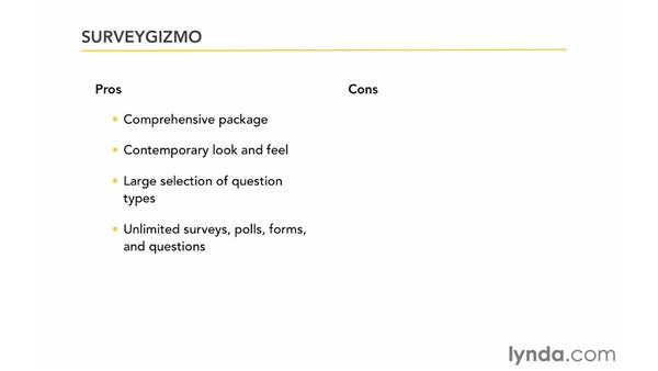 Exploring SurveyGizmo: Up and Running with Online Surveys