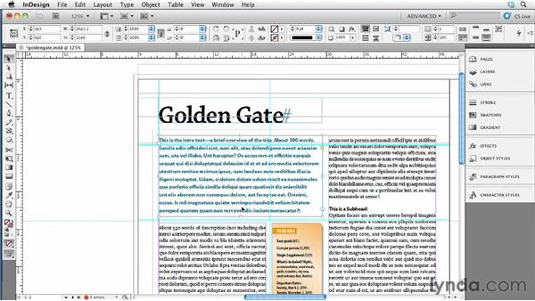 040 Five guide tricks that will impress your coworkers: InDesign Secrets
