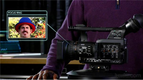 Learning camera anatomy: Foundations of Video: Cameras and Shooting