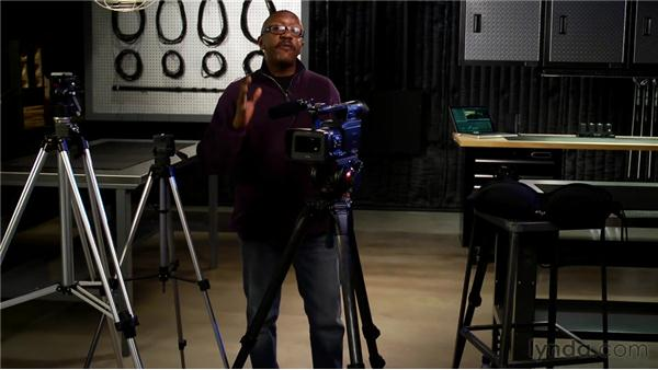 Choosing the right tripod: Foundations of Video: Cameras and Shooting