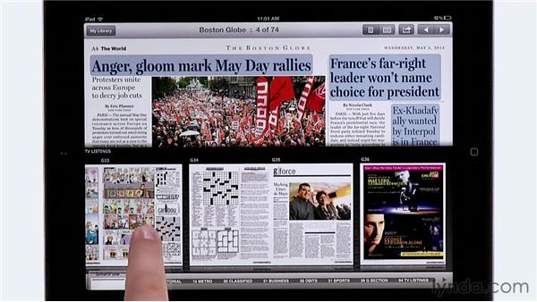 Looking at digital newspapers: BostonGlobe.com: InDesign CS6: Interactive Documents