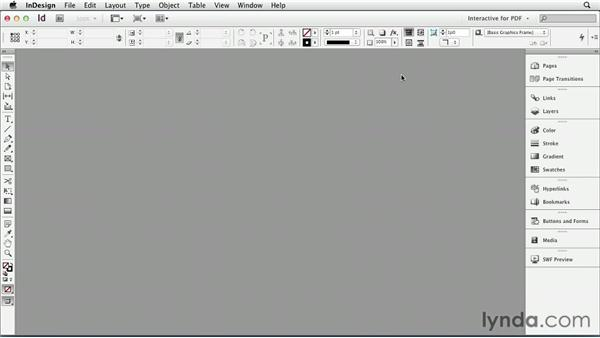 Customizing the workspace : InDesign CS6: Interactive Documents