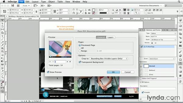 Building a navigation system : InDesign CS6: Interactive Documents