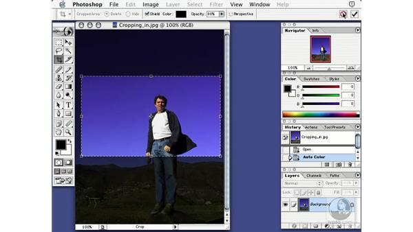 cropping basics: Learning Photoshop 7