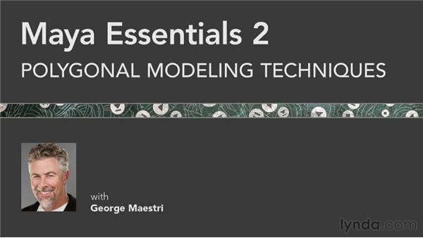 Goodbye: Maya Essentials 2: Polygonal Modeling Techniques