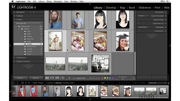Zooming in on images: Lightroom Power Shortcuts