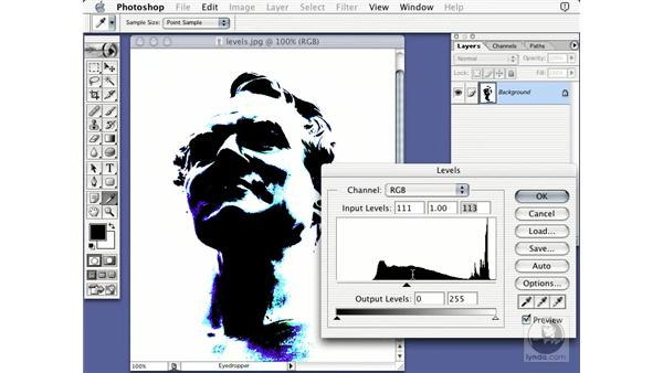 brightness and contrast: Learning Photoshop 7