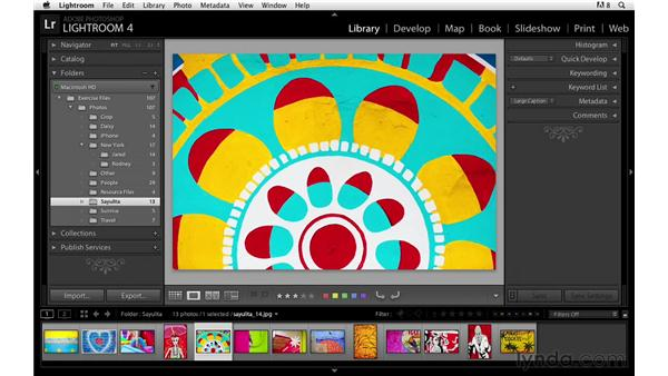 Changing labels, stars, or flags: Lightroom Power Shortcuts