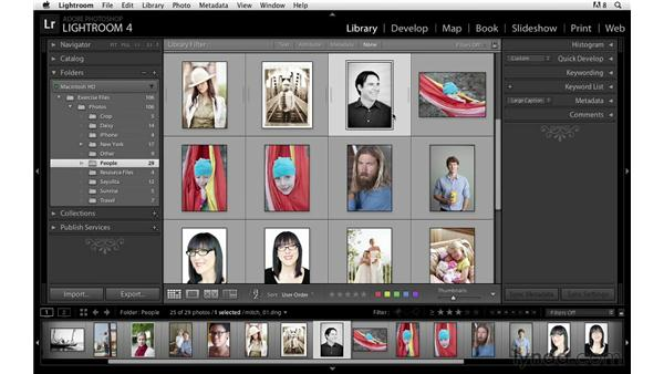 Working with stacks: Lightroom Power Shortcuts