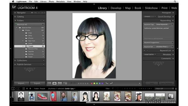Adding and editing keywords quickly: Lightroom Power Shortcuts