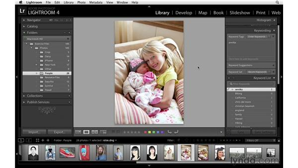 Using keyword lists and saving metadata: Lightroom Power Shortcuts