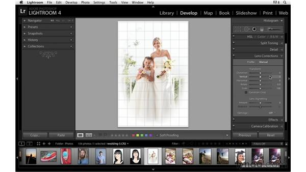 Navigating between basic panels: Lightroom Power Shortcuts