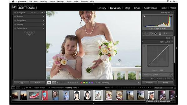 Understanding how to show and correct clipping: Lightroom Power Shortcuts