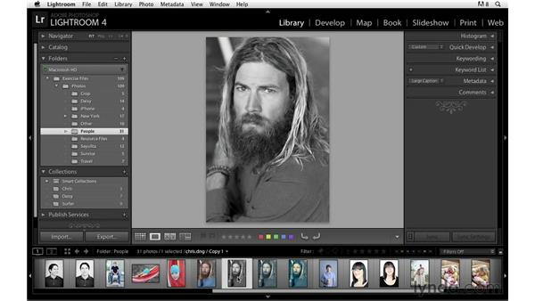 Working with virtual copies: Lightroom Power Shortcuts