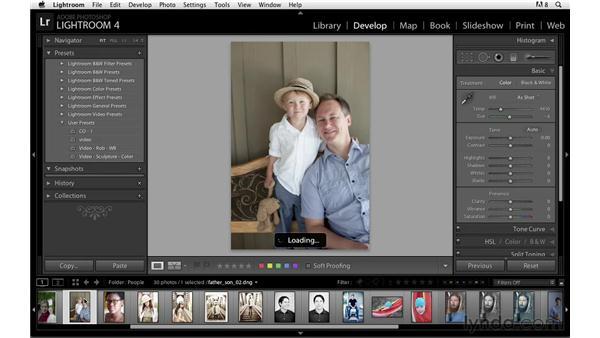 Creating custom presets: Lightroom Power Shortcuts