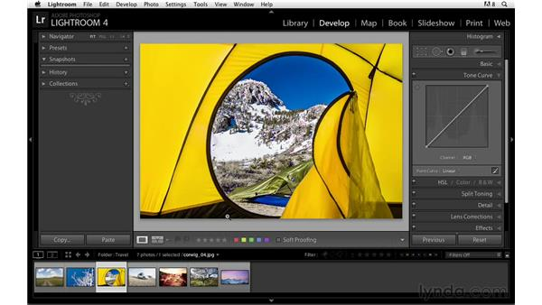 Using the Targeted Adjustment tool : Lightroom Power Shortcuts