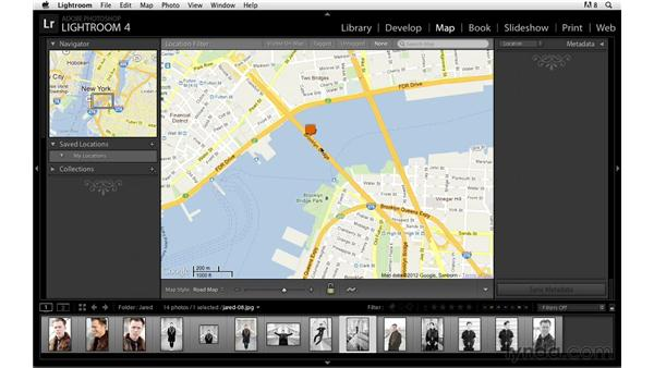 Adding GPS information and moving markers: Lightroom Power Shortcuts