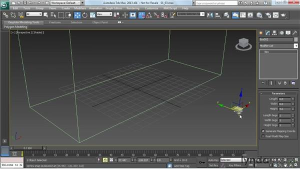 Adding the framing components: Game Prop Creation in 3ds Max