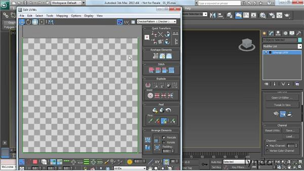Unwrapping the sides: Game Prop Creation in 3ds Max