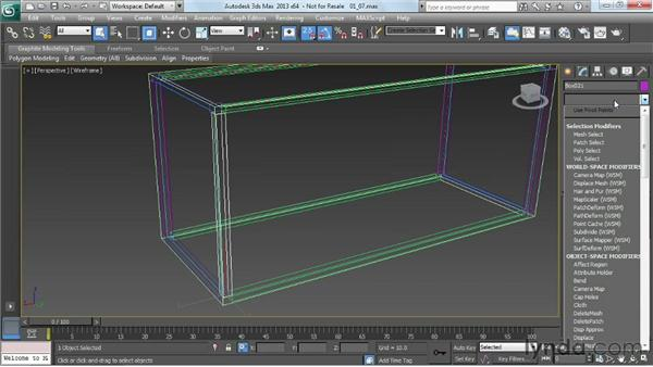 Unwrapping one of each frame member: Game Prop Creation in 3ds Max