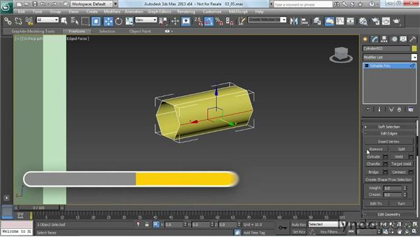 Modeling a ladder: Game Prop Creation in 3ds Max