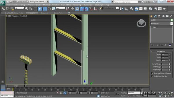 Adding detail and smoothing groups: Game Prop Creation in 3ds Max