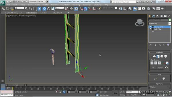 Unwrapping for the ladder: Game Prop Creation in 3ds Max