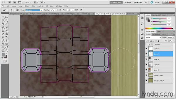 Adding dirt and wear: Game Prop Creation in 3ds Max